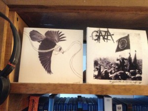 Ron Deuce put two Gaza albums in front of his door to scare the malandros away.