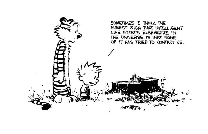 Calvin and Hobbes - Intelligent Life 2