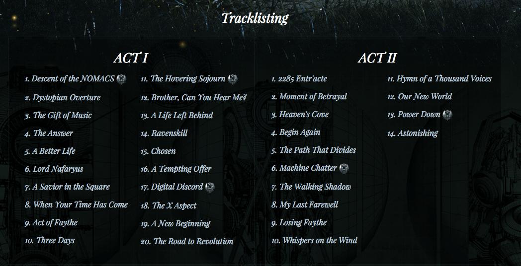 dt tracks