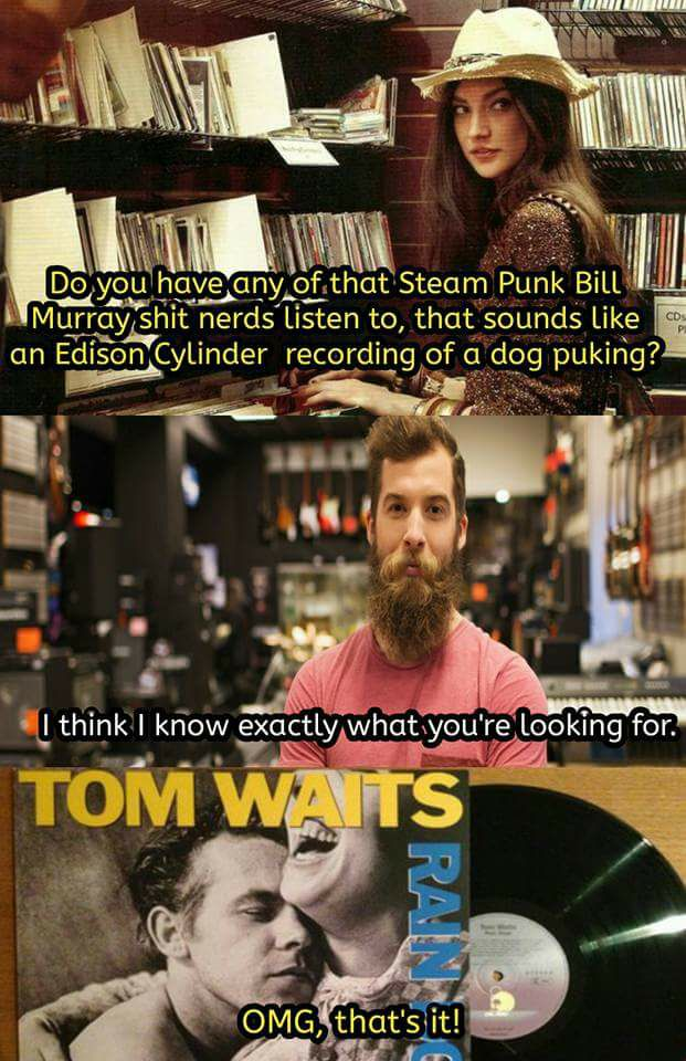 Tom Waits Sucks