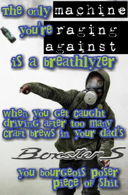 Rage Against Breathalyzer