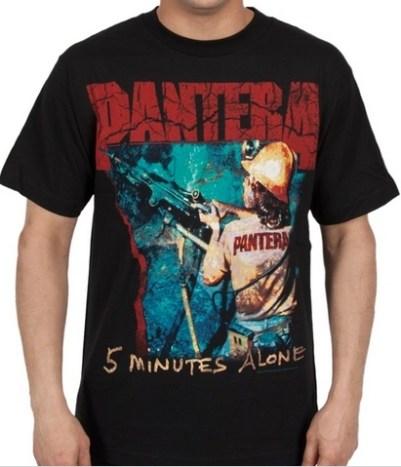 pantera5minutesaloneshirt
