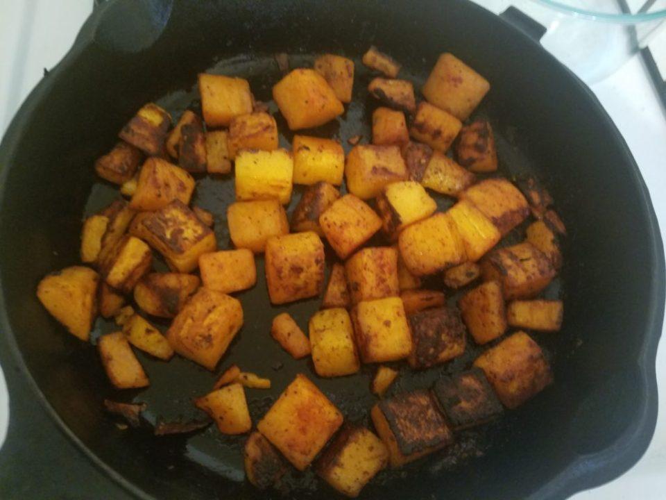 post-roasting