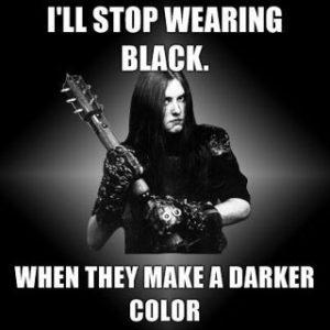 Varg Wearing Black