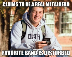 DISTURBED REAL METAL