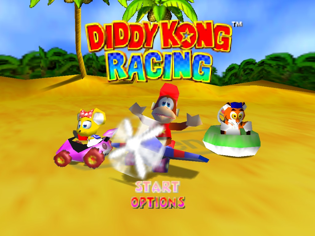 diddy kong racing nintendo 64