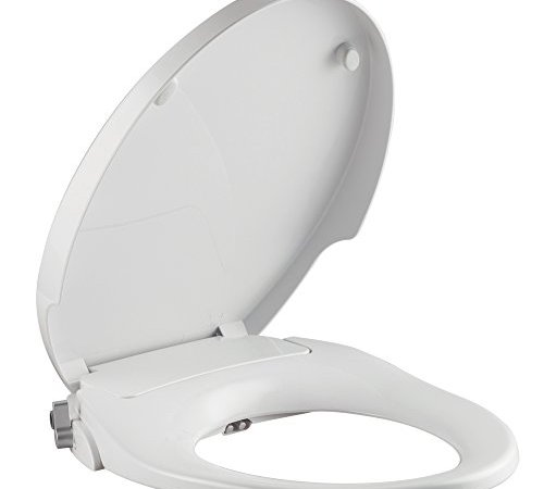 Parkoo Non Electric Bidet Toilet Seat Elongated Dual