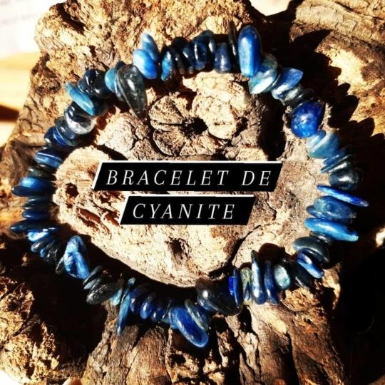 Bracelet de Cyanite