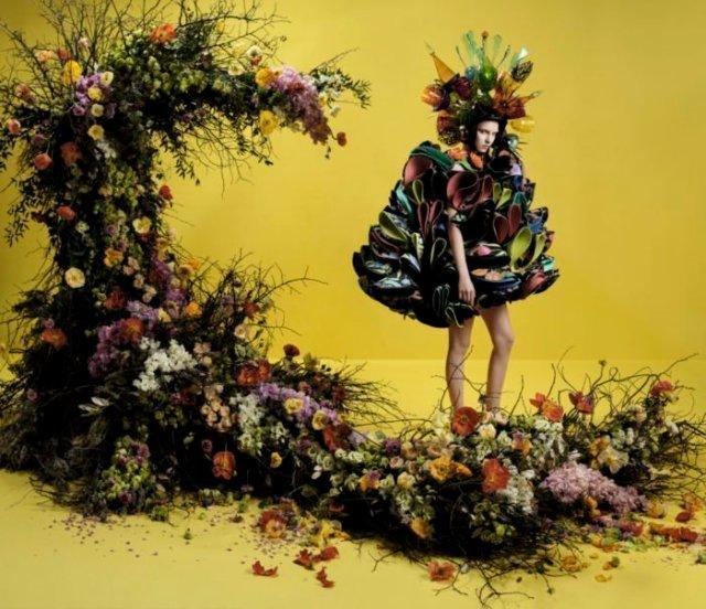 Ο κόσμος της τέχνης ... σε editorial μόδας