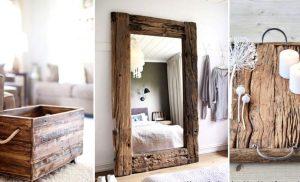 Δημιουργήστε ζεστασιά στο χώρο σας με ξύλινες δημιουργίες