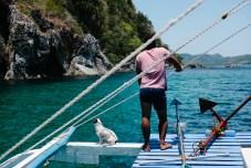 Harry na premcu ladje Tao Philippines