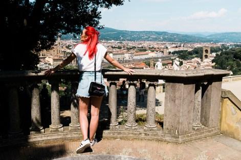 Vrt Bardini, Firence