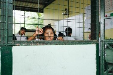 Šolarka, vas Dala, Jangon, Mjanmar