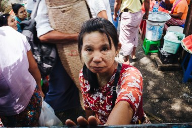 Potnica na jangonski krožni liniji, Mjanmar