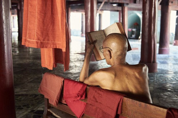Samostan Shwenandaw, Mandalay, Mjanmar