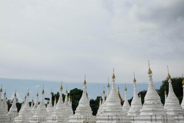 Pagoda Kuthodaw, Mandalay, Mjanmar