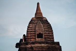 Na strehi pagode, Bagan, Mjanmar