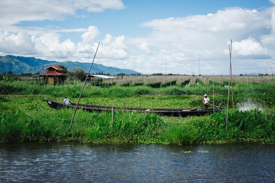 Jezero Inle, Mjanmar