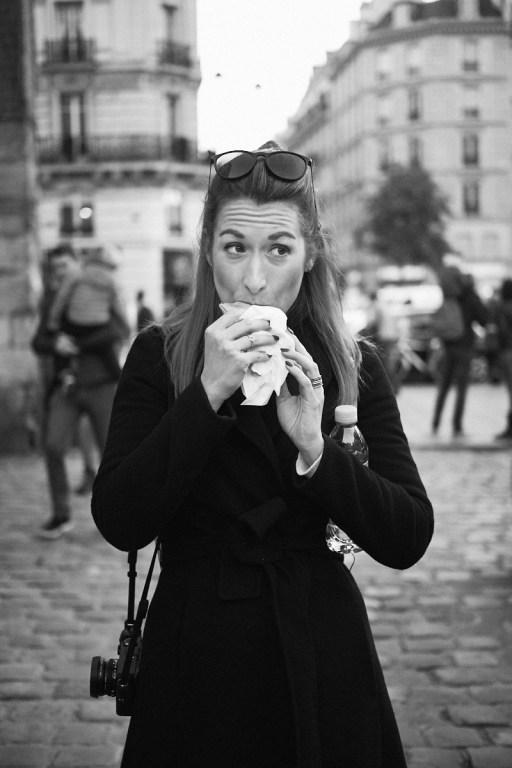 Palačinke z nutelo, Pariz