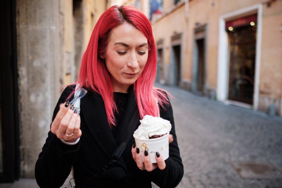 Rimski gelato, izlet v Rim