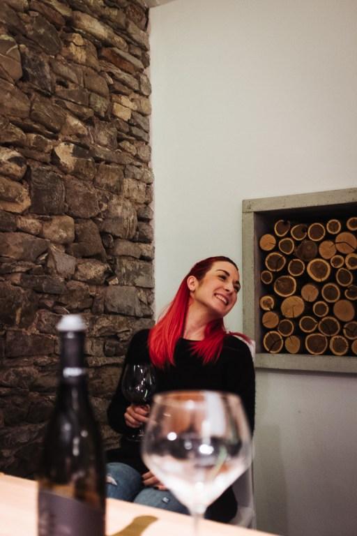 Zala med degustacijo vin Pasji rep, Vipavska dolina