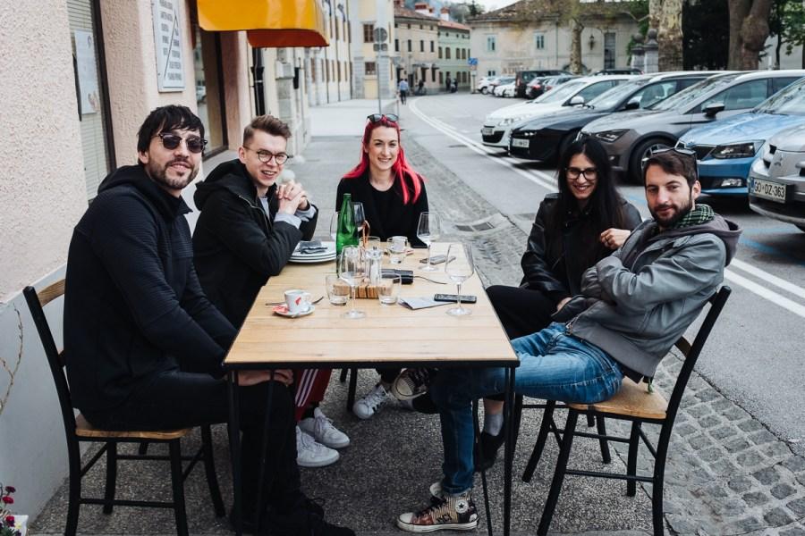 Kosilo po degustaciji vina v gostilni Krhne v Vipavi