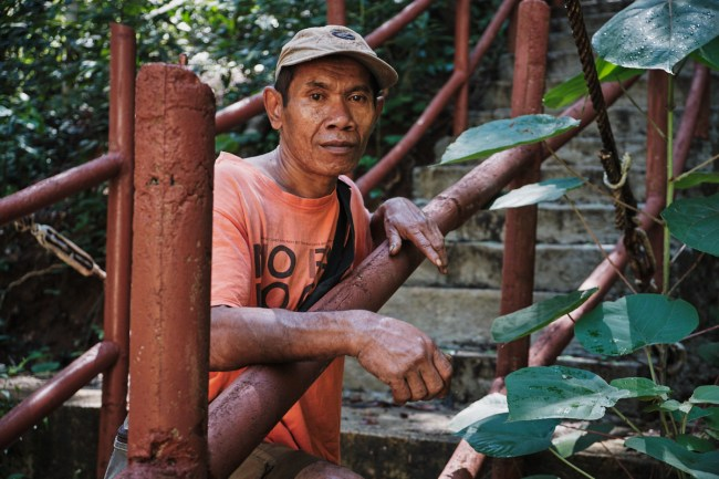 Vodič Don, Slap Cunca Wulang, Flores, Indonezija.