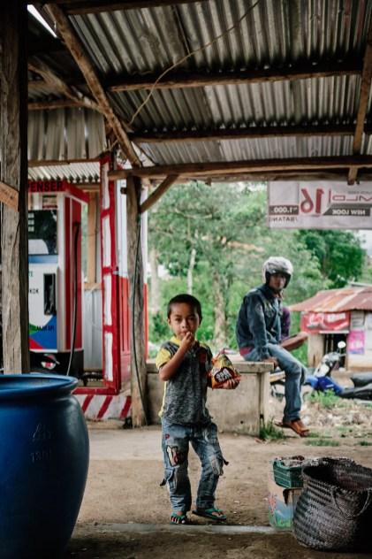 Postaja v Cancarju, Flores, Indonezija