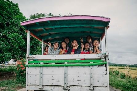 Prevoz iz Cancarja v Dintor, Flores, Indonezija
