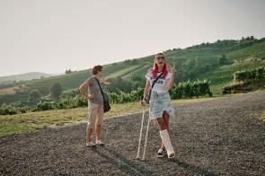 Zaključek prvega dneva izleta na Pohorje v Ritoznoju