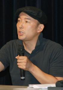 山本太郎参院選立候補表明0614