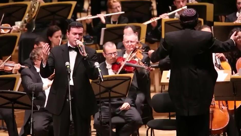 אוהד מושקוביץ בקונצרט משירי יוסי גרין -