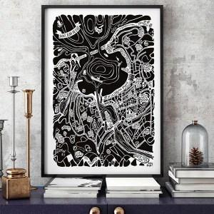Grande affiche SAINT JEAN DE LUZ