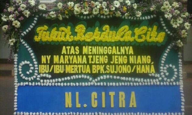 Bunga Papan Duka Cita  Aceh Singkil