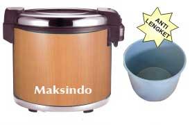 mesin rice warmer penghangat nasi
