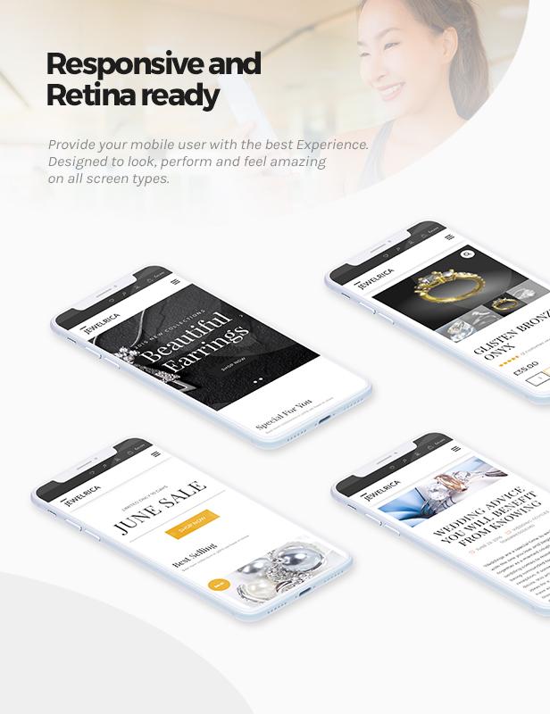 Jewelrica - eCommerce WordPress Theme - 6