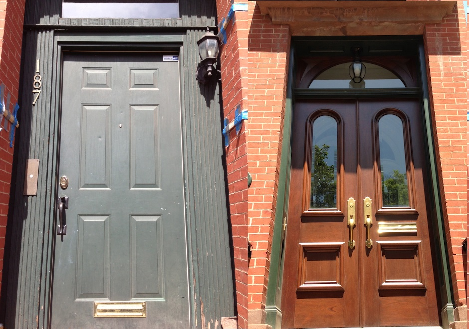 brooklyn door before and after & Brooklyn browntone