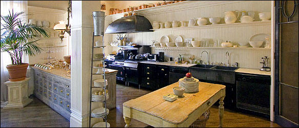 Peri Wolfman loft kitchen via NYT