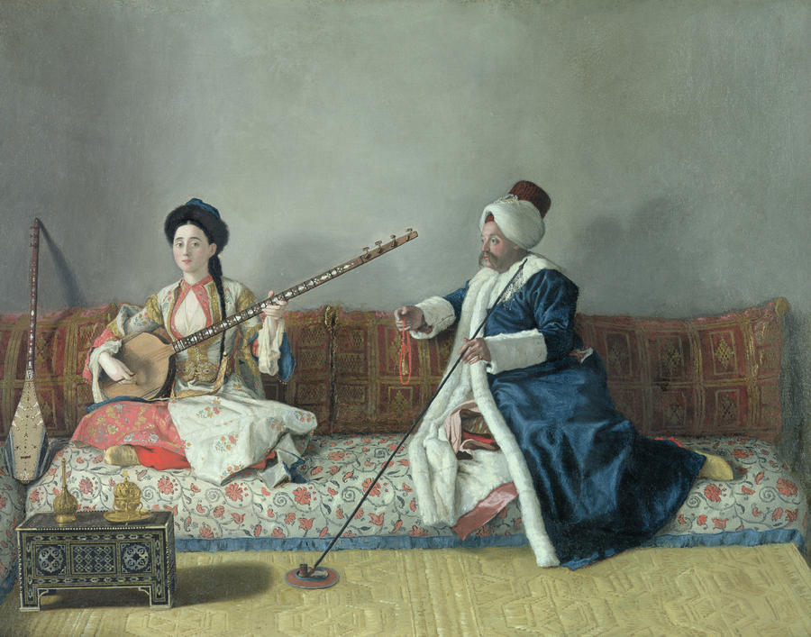 monsieur-levett-and-mademoiselle-helene-glavany-in-turkish-costumes-jean-etienne-liotard