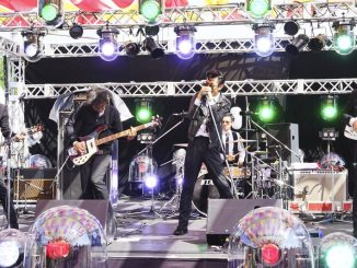 The Changcuters on the Island Stage at Summer Sonic