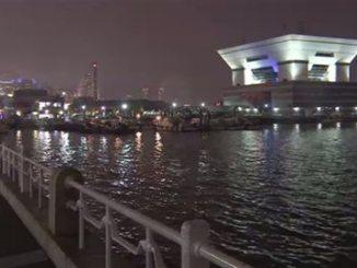 Yokohama Bay at Yamashita Park