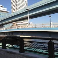 新浜崎橋全景