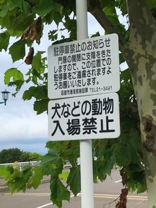 動物入場禁止