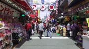 Walking around Ameyoko Market