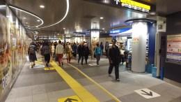 Walking around Shibuya Chikamichi