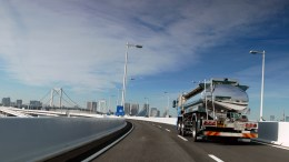 Driving from Toyosu to Ueno