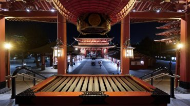 Asakusa Senso-Ji temple by Night