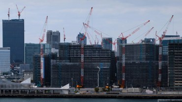 Building the Olympic village