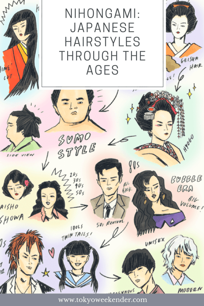nihongami: japanese hairstyles through the ages | tokyo