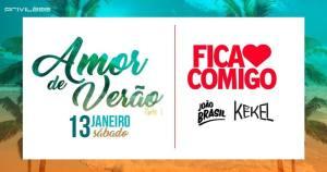 Amor de Verão : Atlântida : : Fica Comigo & Joao Brasil & KeKel @ Privilège | Rio Grande do Sul | Brasil